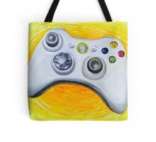 XBOX 360 Controller Impressionist Painting Tote Bag