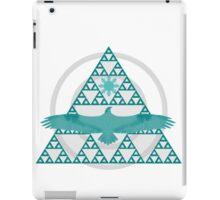 Eagle Rising - Turquoise iPad Case/Skin