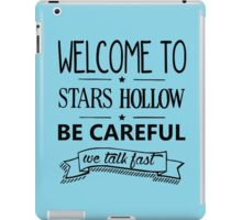 Welcome to Stars Hollow iPad Case/Skin