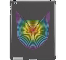 The Rainbow Lined Cat iPad Case/Skin