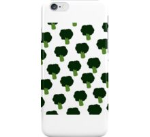 Broccoli pattern iPhone Case/Skin