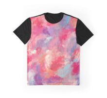 Heavens Clouds Oil Painting Graphic T-Shirt