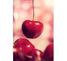 Sweet Red Cherries Photographic Print