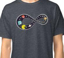 Pacman Retro Mobius Strip Classic T-Shirt