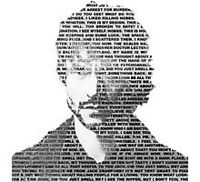 Will Graham Black & White Words Photographic Print