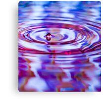 ~ one drop ~ Canvas Print