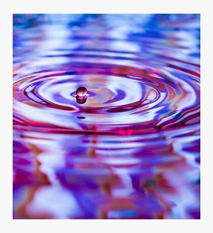 ~ one drop ~ Photographic Print