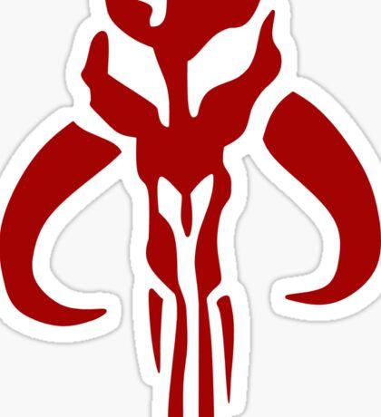 Mandalorian Emblem Sticker