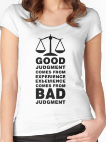 The Balance Paradox Women's Fitted Scoop T-Shirt