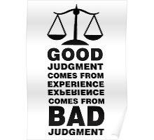 The Balance Paradox Poster