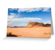Wadi Rum, Jordan Greeting Card