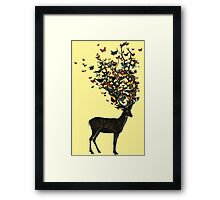 Wild Nature - Yellow Framed Print