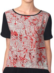 Welcome to the Jungle RED Chiffon Top