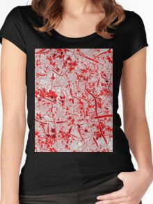 Welcome to the Jungle RED Women's Fitted Scoop T-Shirt