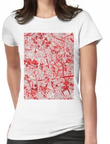 Welcome to the Jungle RED Womens Fitted T-Shirt