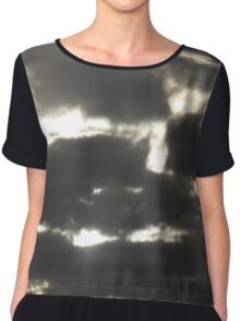 Storm Clouds  Chiffon Top