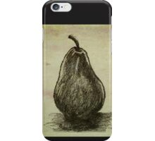 Pears ~ A Sketch Study iPhone Case/Skin