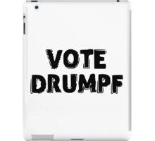 VOTE DRUMPF iPad Case/Skin