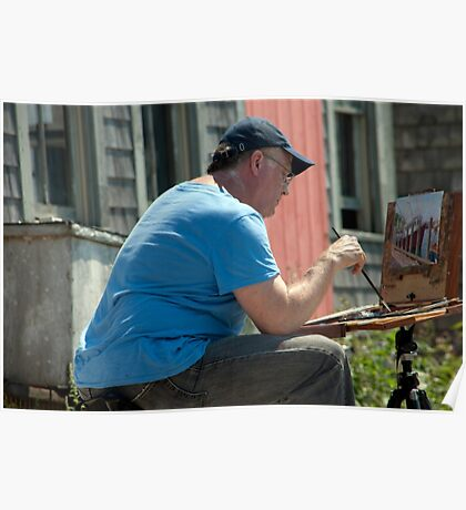 Menemsha Painter Poster