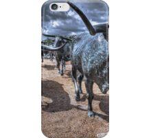 The Cattle Drive  iPhone Case/Skin