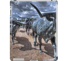 The Cattle Drive  iPad Case/Skin