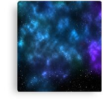 space cloud Canvas Print