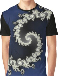 Fractal Galaxy Graphic T-Shirt
