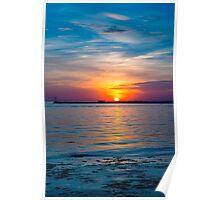 Vibrant Sunset Poster