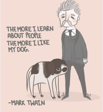 Quote- Mark Twain Sticker