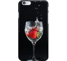 Strawberry Splash iPhone Case/Skin