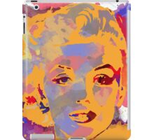 Marilyn Monroe Water Color  iPad Case/Skin