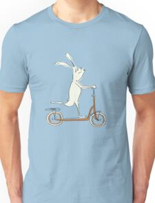 scooter - blue Unisex T-Shirt