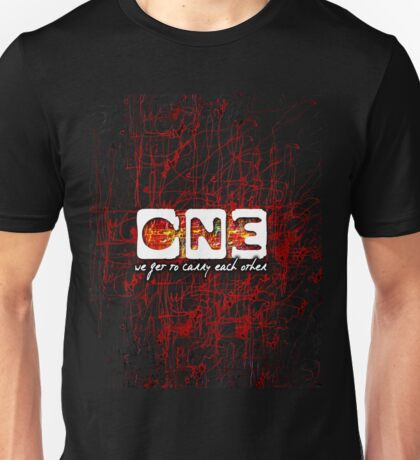 U2 One new release Unisex T-Shirt