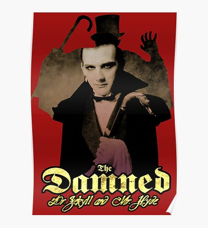 THE DAMNED Dr Jekyll and Mr Hyde Poster