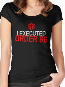 I Executed Order 66 Women's Fitted Scoop T-Shirt