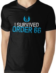 I Survived Order 66 Mens V-Neck T-Shirt