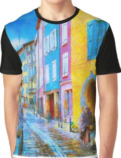 Ancient Streets Graphic T-Shirt