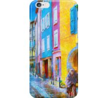 Ancient Streets iPhone Case/Skin