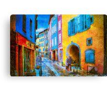 Ancient Streets Canvas Print