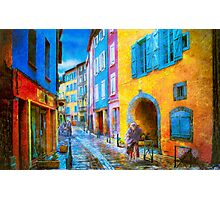 Ancient Streets Photographic Print