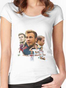 Mario Götze Women's Fitted Scoop T-Shirt