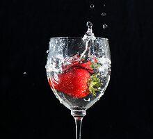 Strawberry Splash by Tracy Friesen