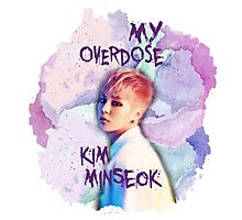 My Overdose Minseok Photographic Print