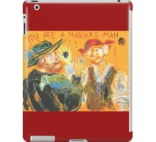 You are a Marked Man: Sergei Lefert's drawing iPad Case/Skin