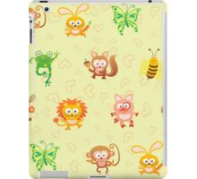 Cute animal kingdom iPad Case/Skin