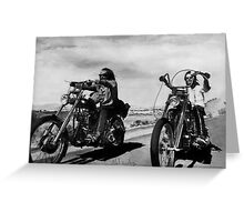 Easy Rider Greeting Card
