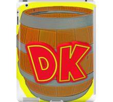Donkey Kong Country - DK Barrel  iPad Case/Skin