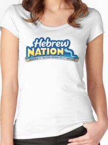 HEBREW NATION Women's Fitted Scoop T-Shirt