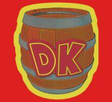 Donkey Kong Country - DK Barrel  by Brenden Talarczyk