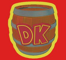 Donkey Kong Country - DK Barrel  by Brenden Talarczyk